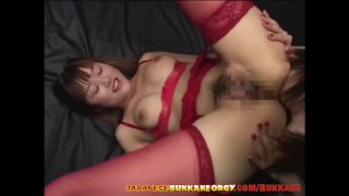 Free Tube :Japanese Girls Extreme Cum Play  Japanese Bukkake Orgy