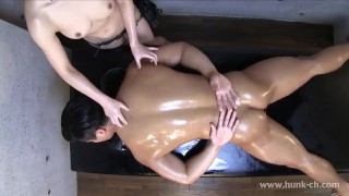 Free Tube :Oiled Massage 1 Extreme Post Orgasm Torture in the end